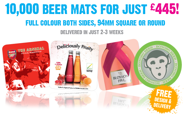 Beer Mats at Affordable Prices